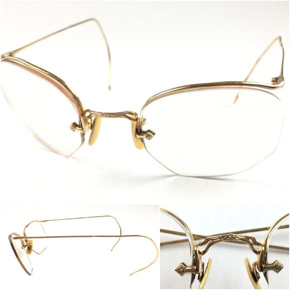 f176b707afb7 American Optical Other - American Optical vtg 12k g.f. eyeglasses D66